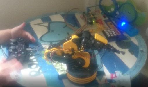 Dev255 - PS3 Controlled Arm - NoMet - 50