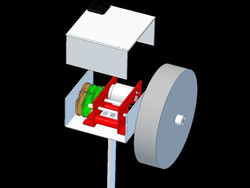 Dev255 - Fly Wheel 3D CAD - NoMet