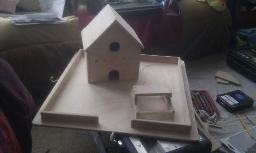 Dev255 - Bird Table Assembled - NoMet