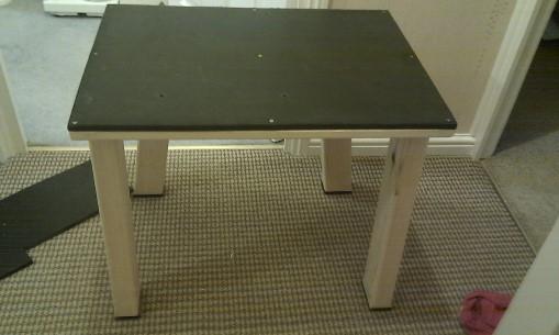 Dev255 - Milling Table -3- NoMet - 509