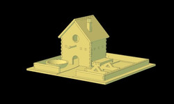 Dev255 - Bird Table CAD - NoMet