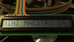 Dev255 - Mini Maestro 24 LCD Driver -2-