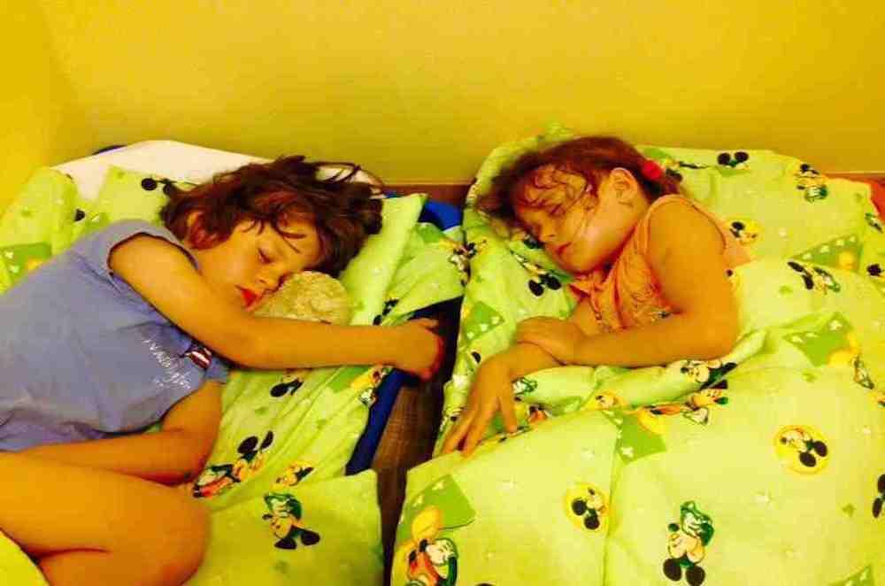 Übernachtung im Kindergarten