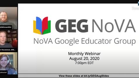 GEG Nova Webinar