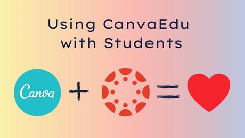 Providing Student Feedback in Canva Edu