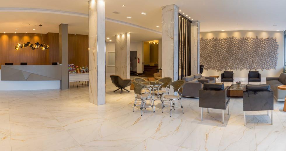 Recepção Hotel Vieiras