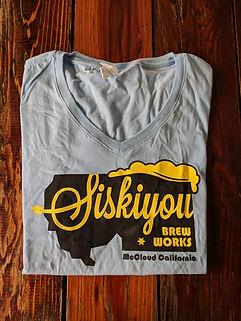Women's Sisikyou BrewWorks shirt
