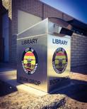 Coolidge Public Library book drop