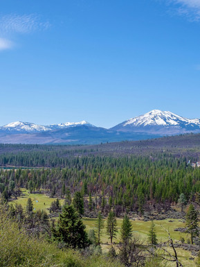 Views of Burney mountain