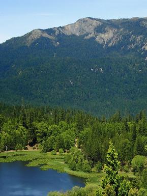Howard Lake in Mendocino National Forest