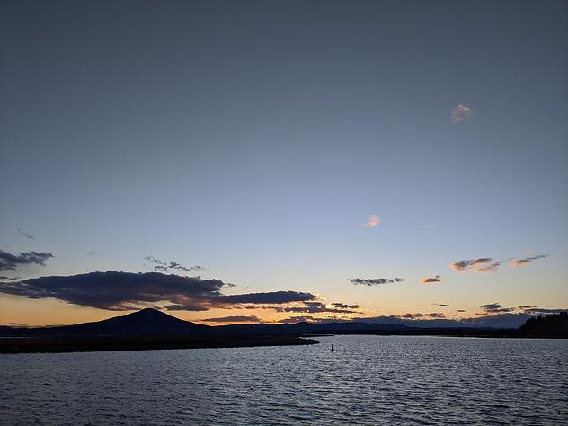 Sunset at Horr Pond