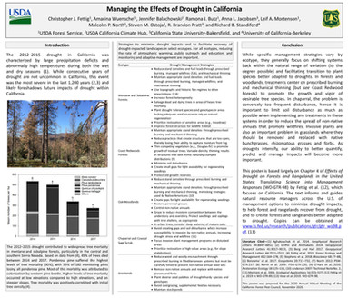 Managing the Effects of Drought