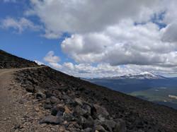 Burney Mountain view of Lassen N.F