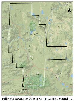 Fall River RCD boundary map