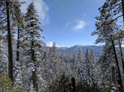 Lassen Peak from Eskimo Hill