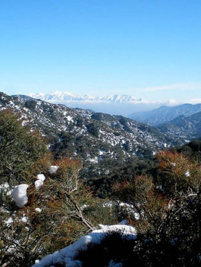 View from San Gabriel Mountains.