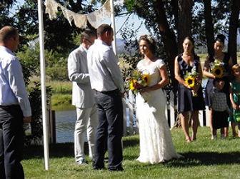 Wedding Spinnerfall Lodge Fall River Mills