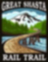 Great Shasta Rail Trail logo