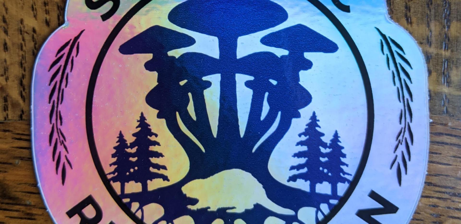 Holographic Mushroom Beaver 3x3