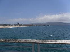 Views of the coast from Redondo beach