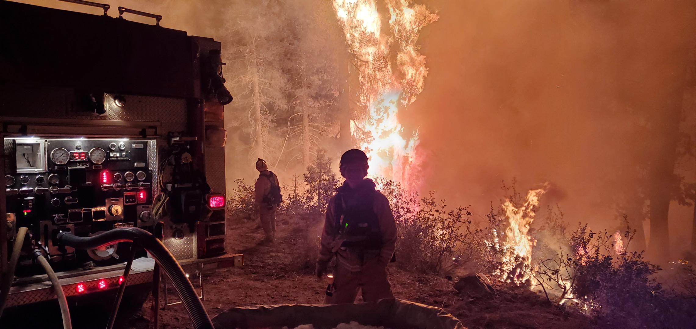 North Complex Burn Operations