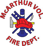 McArthur Volunteer Fire Dept logo
