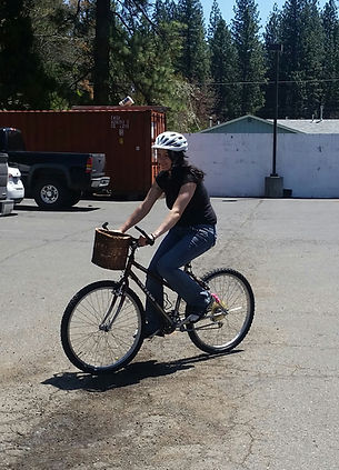 A bike and it's new owner