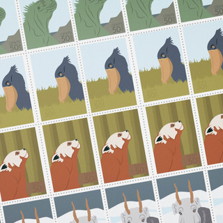 Endangered Animal Stamps