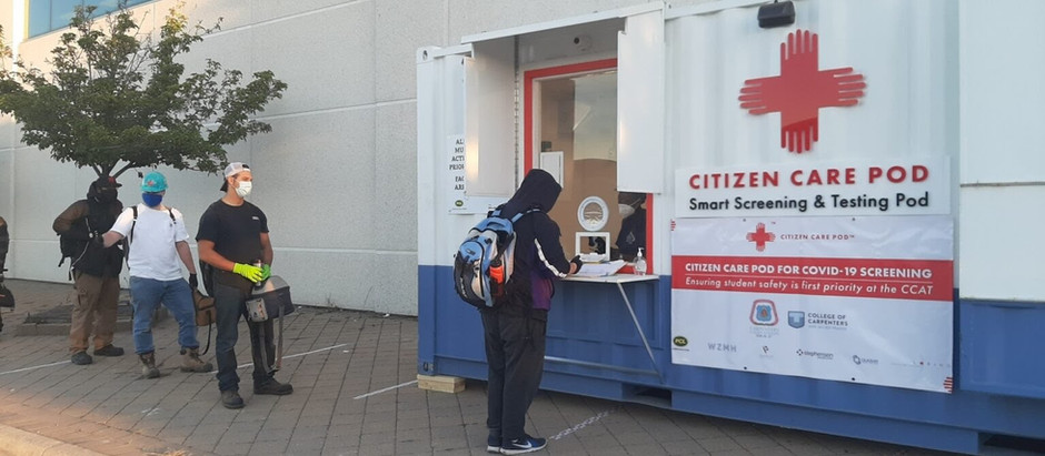 Citizen Care Pods showcase good behaviour efforts of trades!