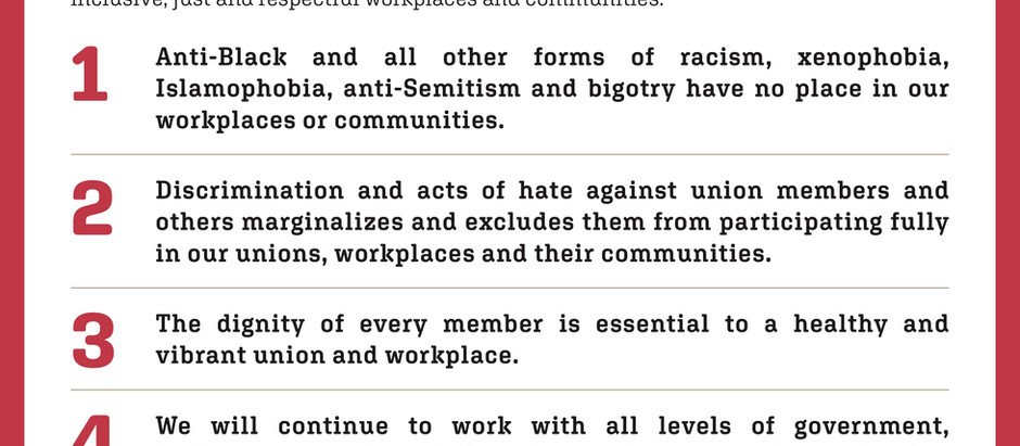 Charter of Inclusive Workplaces & Communities