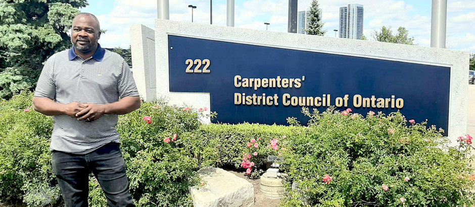 Campbell of the Carpenter's Union assumes new equity, diversity role!