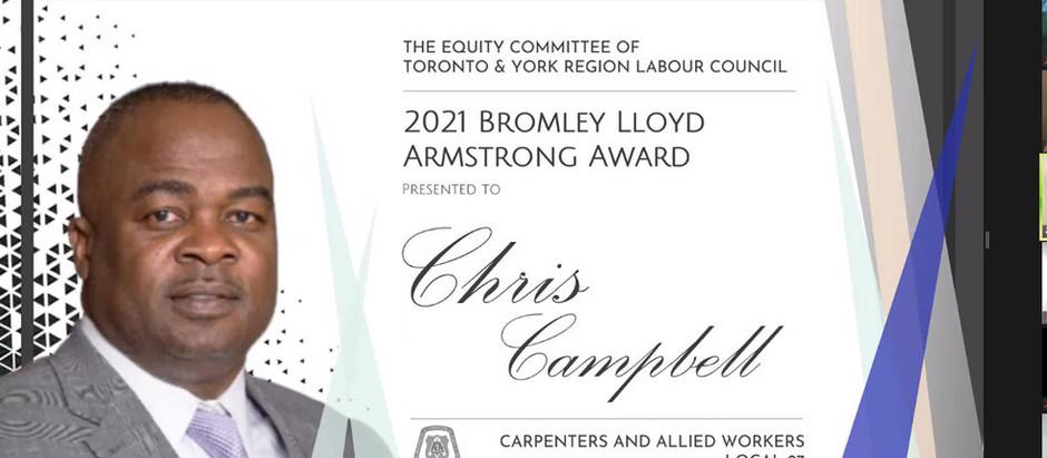 Campbell, Dawns among Bromley Lloyd Armstrong Award winners