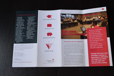 Chicago Kent brochure