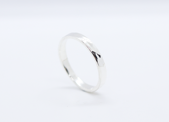 Hammered Flat Band 3mm
