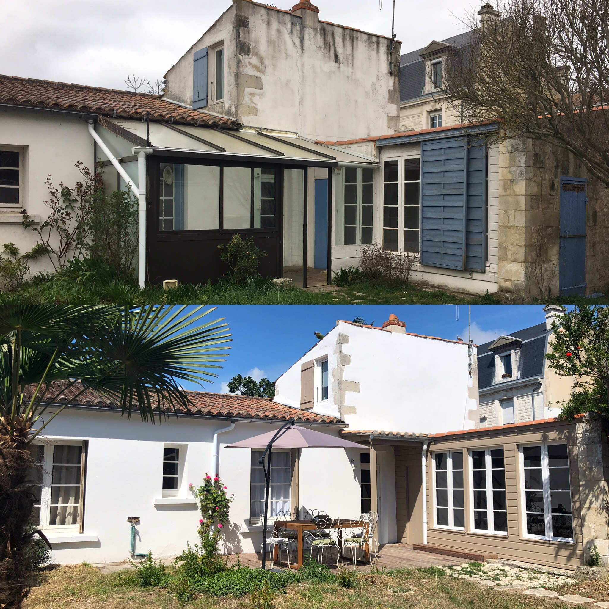AVANT APRES RENOVATION LA ROCHELLE