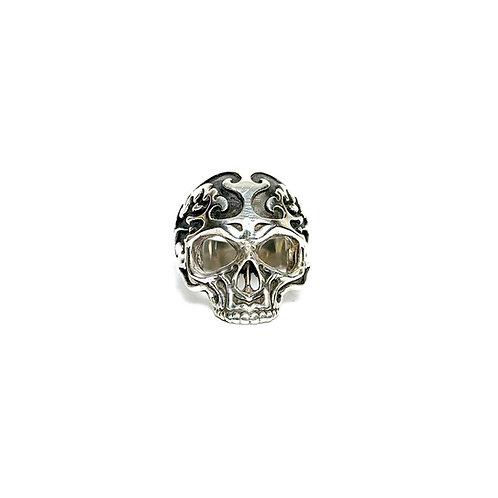 Bague Skull Celtique