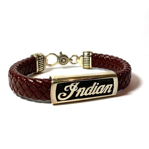 Bracelet Indian Bordeaux Big Modèle