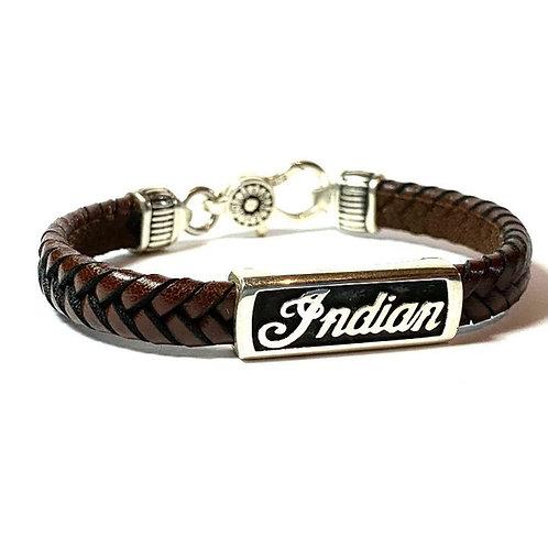 Bracelet Indian Marron Modèle Mixte