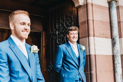 St Paul's Church Hooton wedding photography