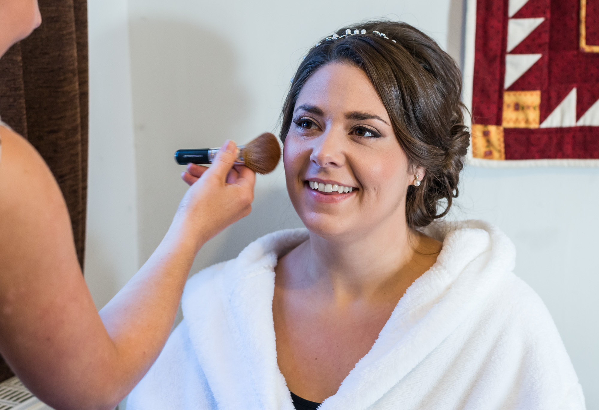 North Wales bridal prep