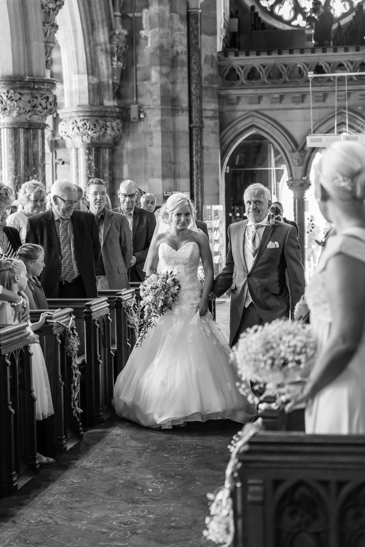 Bodelwyddan Church Wedding Photo