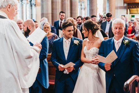 Church wedding Ellesmere Port