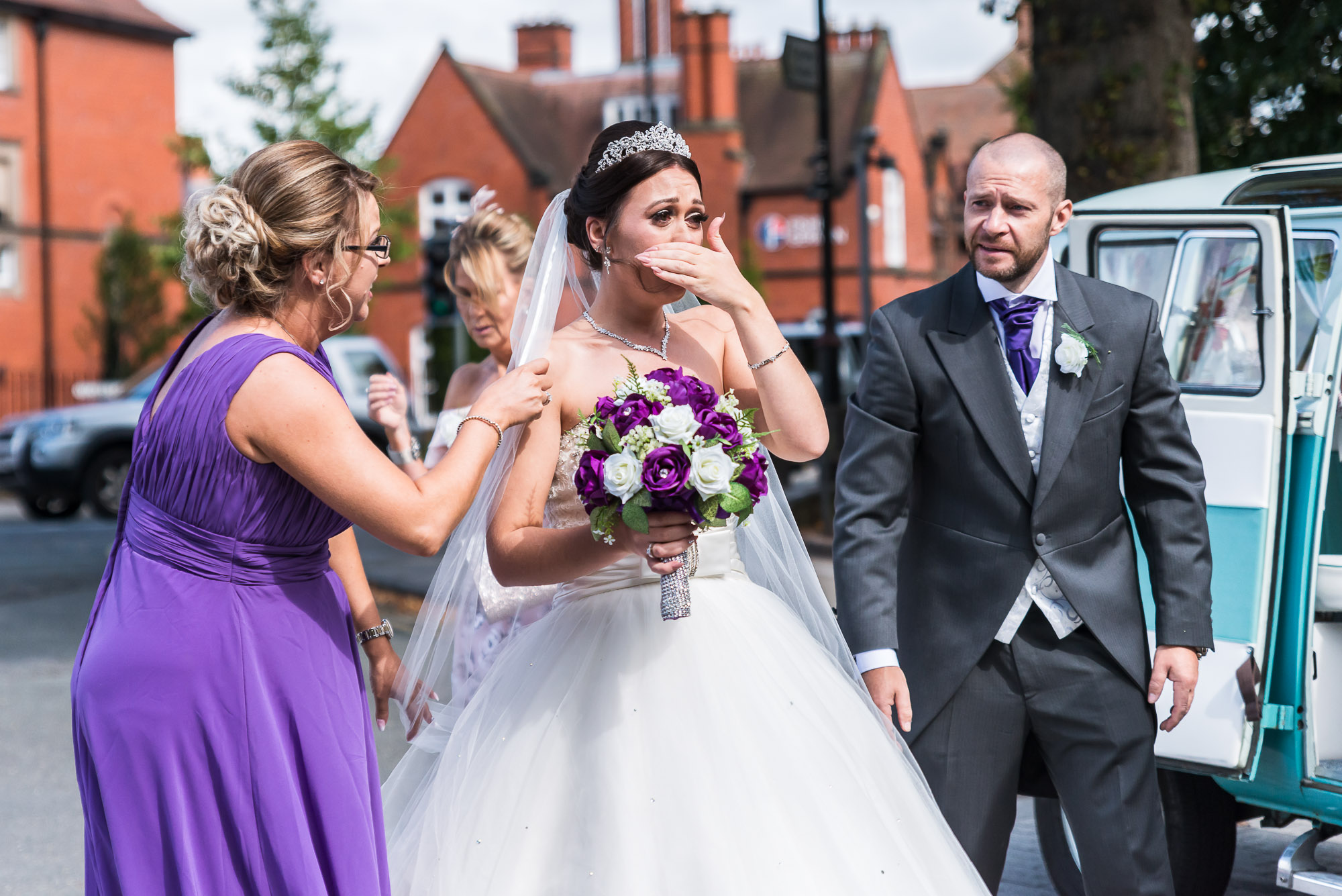 The Queens Hotel wedding photography