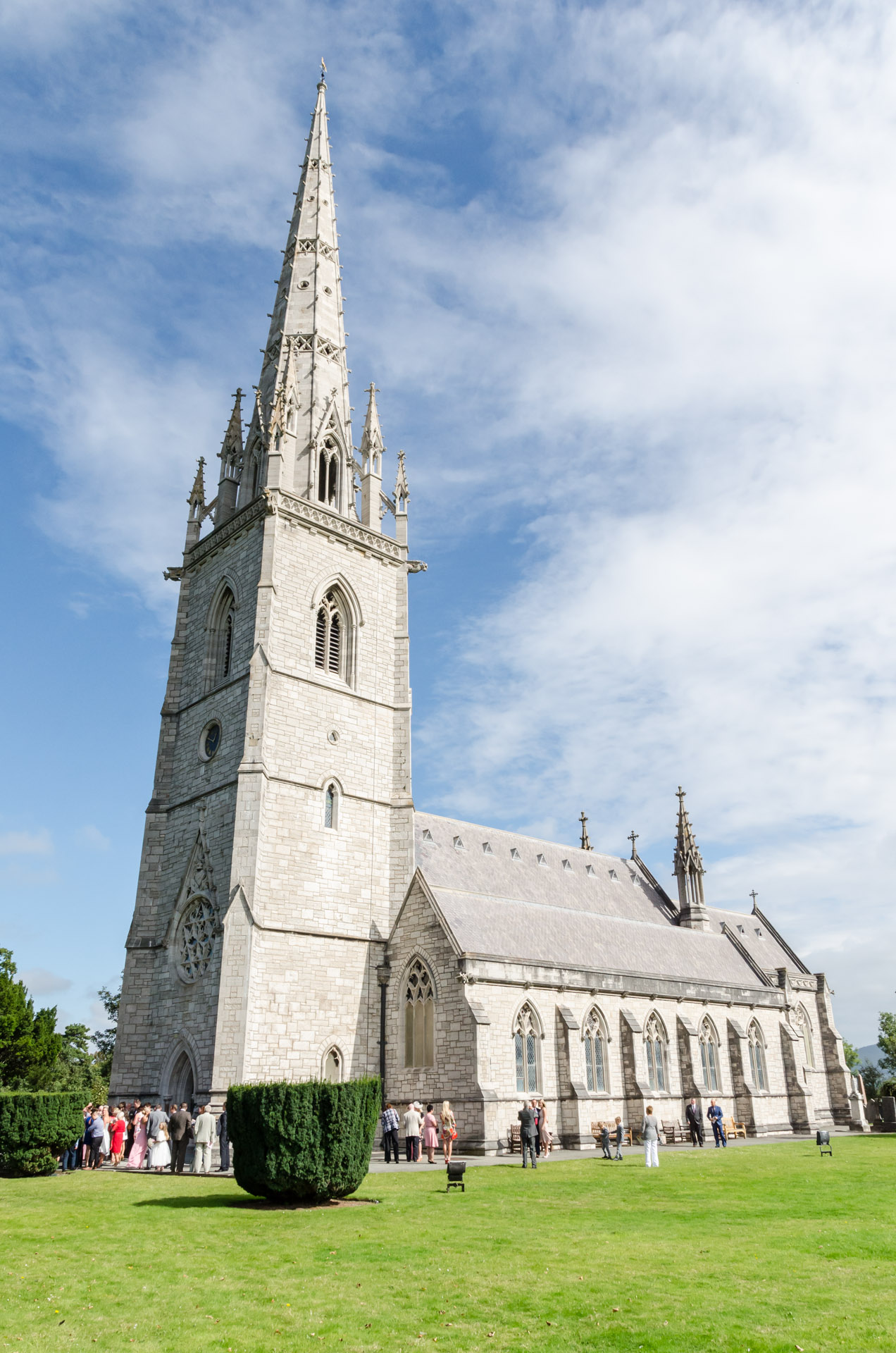 Marble Church Bodelwyddan wedding