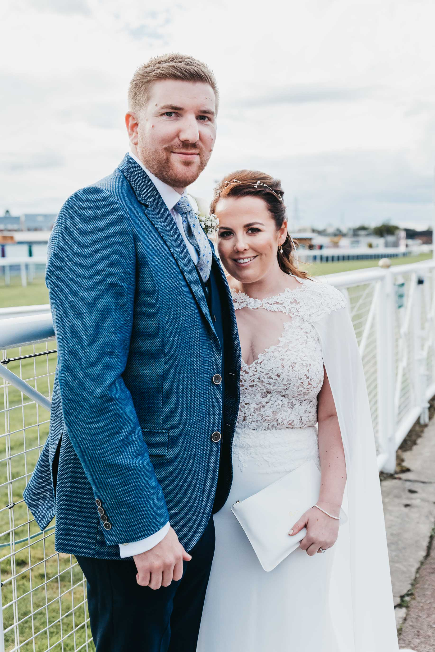 Chester Racecourse Wedding Photo