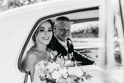 Wedding Photography classic car