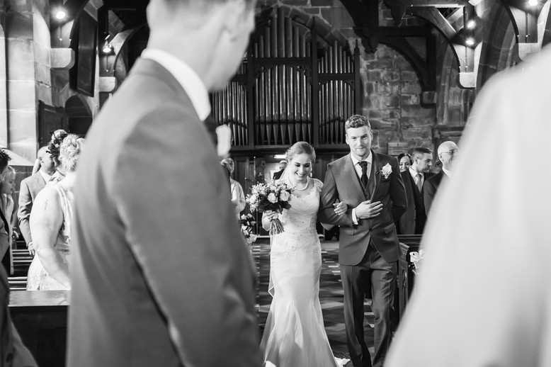 Trafford Hall Chester wedding photographer