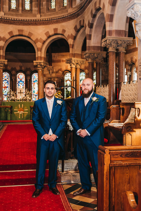 St Paul's Church wedding Photography