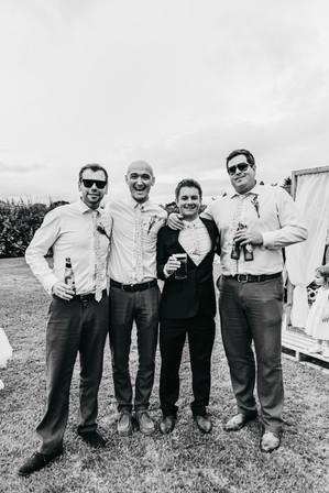 Informal wedding photos chester