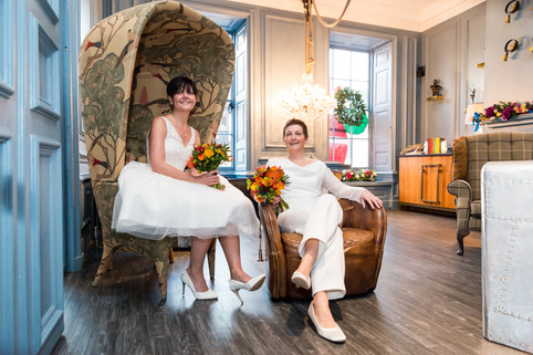 Lisa & Claire, Oddfellows Wedding Photos